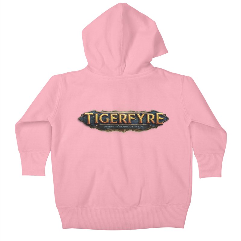 Tigerfyre - Cursed Is the Ground for Thy Sake Merch Kids Baby Zip-Up Hoody by Legend Studio Shop