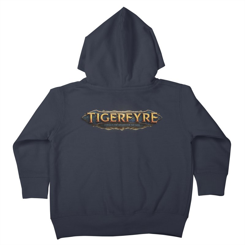 Tigerfyre - Cursed Is the Ground for Thy Sake Merch Kids Toddler Zip-Up Hoody by Legend Studio Shop
