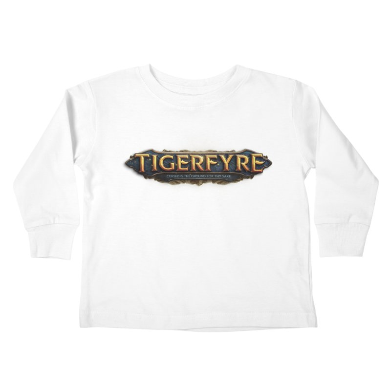 Tigerfyre - Cursed Is the Ground for Thy Sake Merch Kids Toddler Longsleeve T-Shirt by Legend Studio Shop