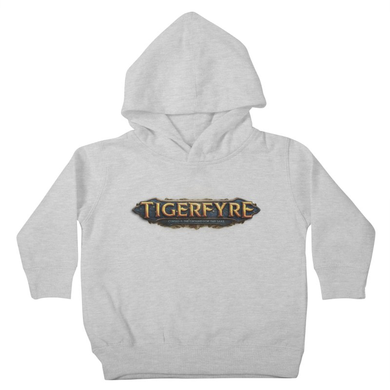 Tigerfyre - Cursed Is the Ground for Thy Sake Merch Kids Toddler Pullover Hoody by Legend Studio Shop