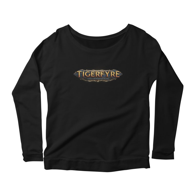 Tigerfyre - Cursed Is the Ground for Thy Sake Merch Women's Scoop Neck Longsleeve T-Shirt by Legend Studio Shop