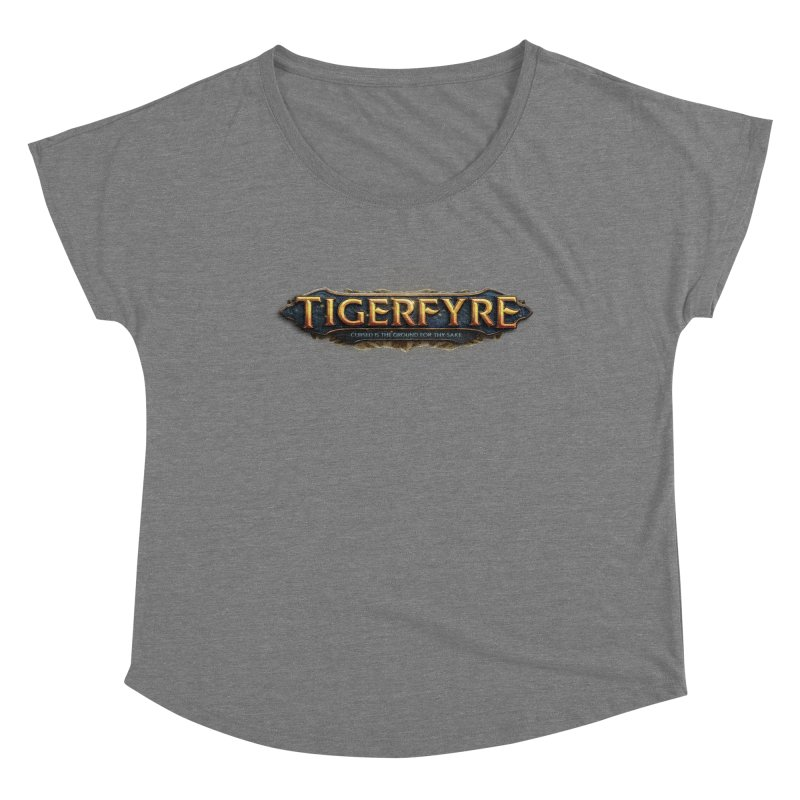 Tigerfyre - Cursed Is the Ground for Thy Sake Merch Women's Dolman Scoop Neck by Legend Studio Shop