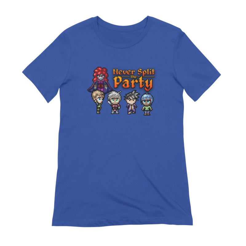 Never Split the Party Merch Women's Extra Soft T-Shirt by Legend Studio Shop