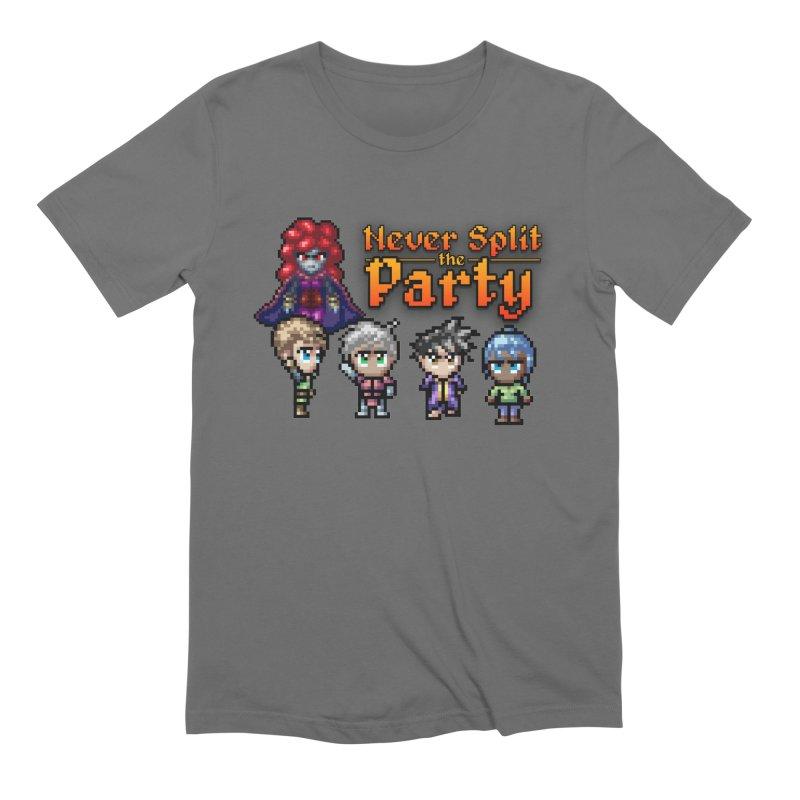Never Split the Party Merch Men's T-Shirt by Legend Studio Shop