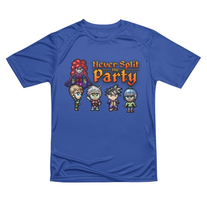 Never Split the Party Merch Men's Performance T-Shirt by Legend Studio Shop