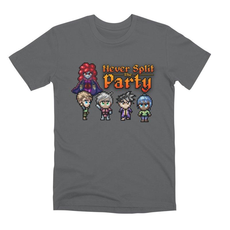 Never Split the Party Merch Men's Premium T-Shirt by Legend Studio Shop