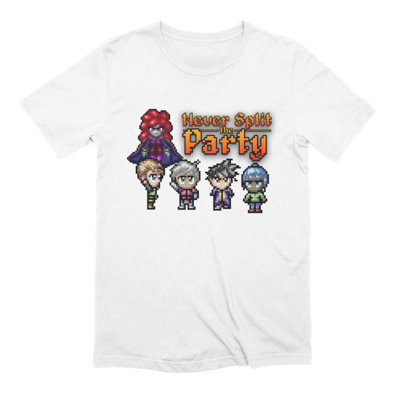 Never Split the Party Merch Men's Extra Soft T-Shirt by Legend Studio Shop