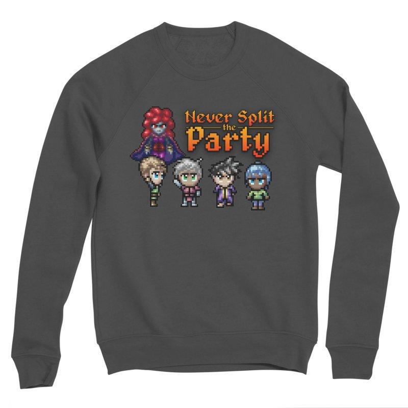 Never Split the Party Merch Men's Sponge Fleece Sweatshirt by Legend Studio Shop