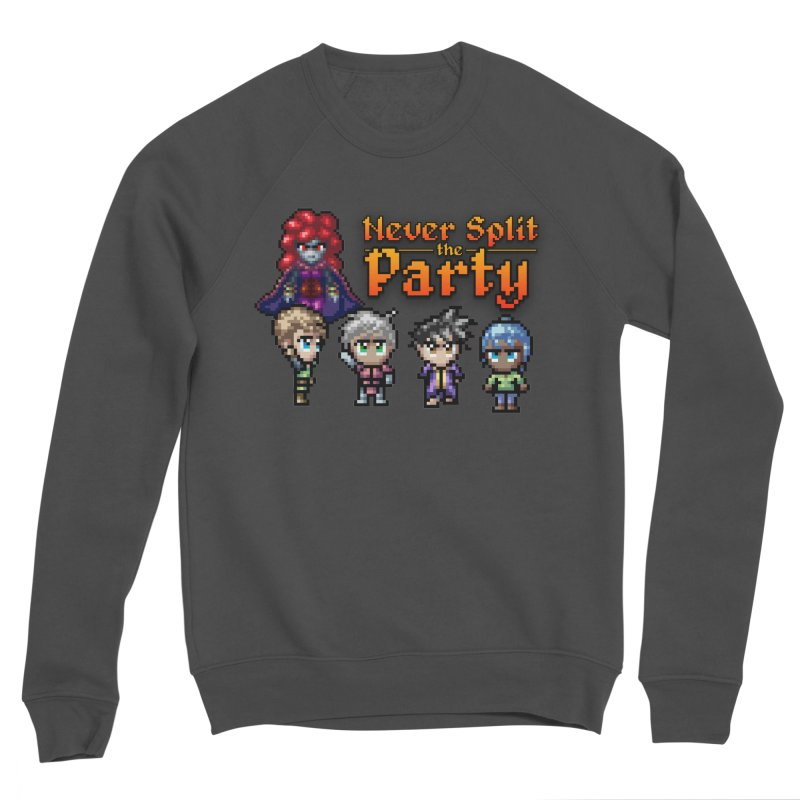 Never Split the Party Merch Women's Sponge Fleece Sweatshirt by Legend Studio Shop