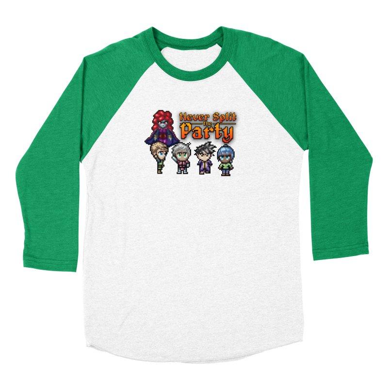 Never Split the Party Merch Women's Longsleeve T-Shirt by Legend Studio Shop