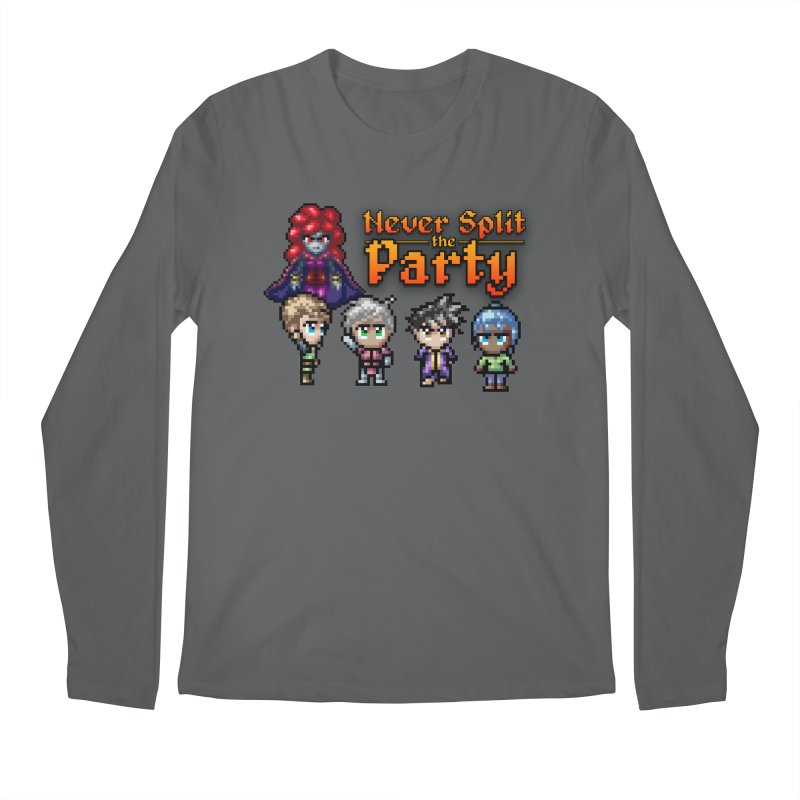 Never Split the Party Merch Men's Longsleeve T-Shirt by Legend Studio Shop