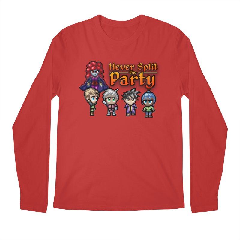 Never Split the Party Merch Men's Regular Longsleeve T-Shirt by Legend Studio Shop
