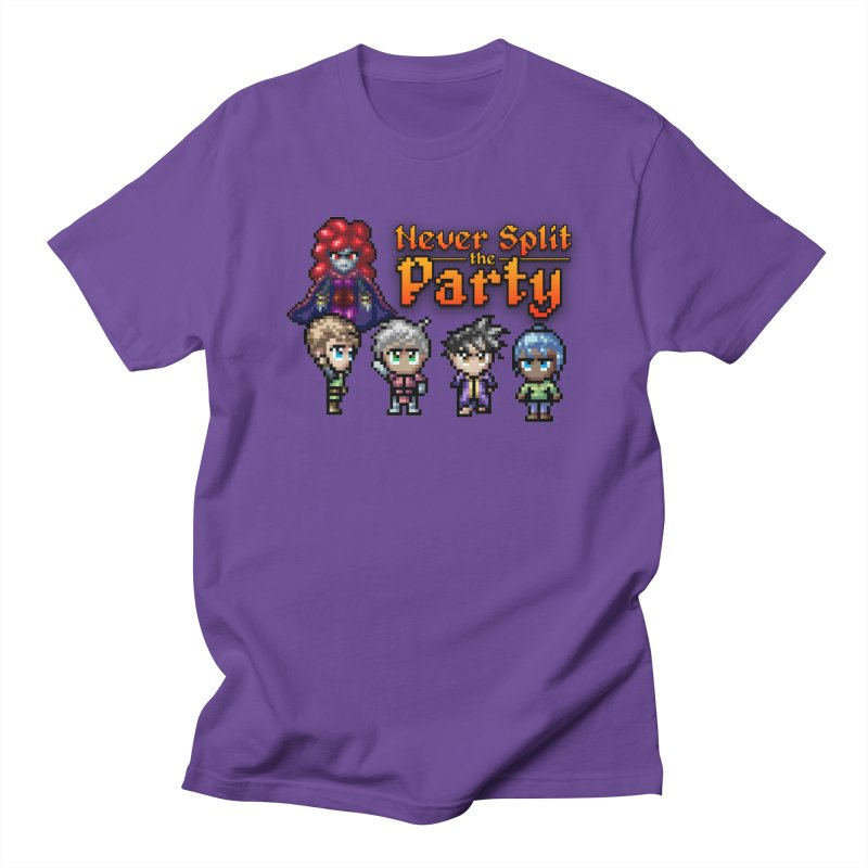 Never Split the Party Merch Men's Regular T-Shirt by Legend Studio Shop