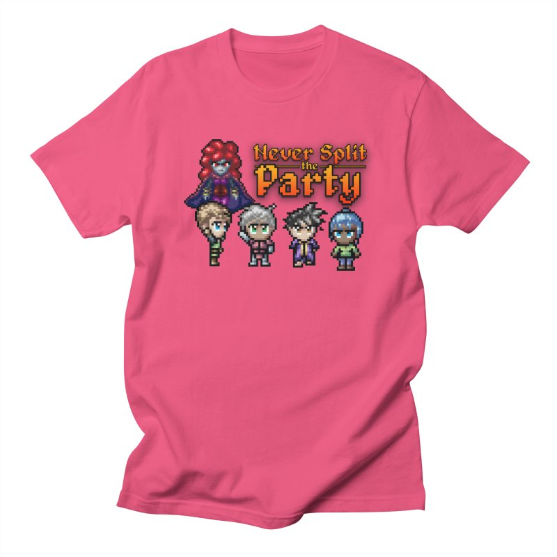 Never Split the Party Merch Men's Regular T-Shirt by Legend Studio Shop