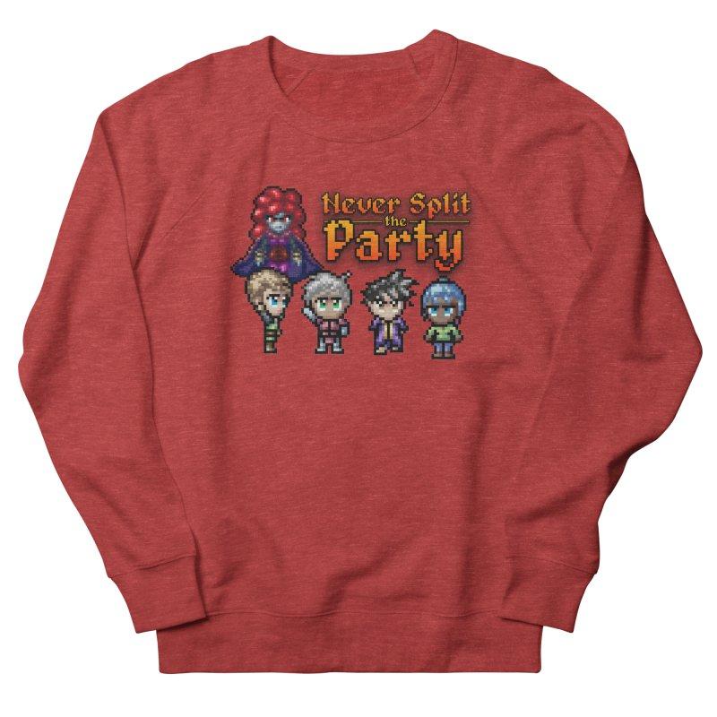 Never Split the Party Merch Women's French Terry Sweatshirt by Legend Studio Shop