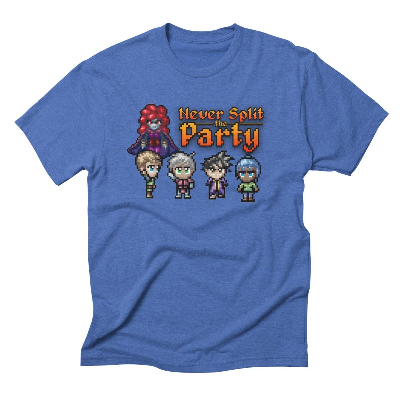 Never Split the Party Merch Men's T-Shirt by Legend Studio Shop