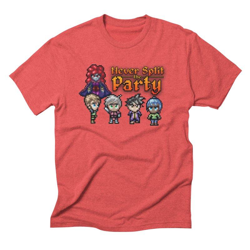 Never Split the Party Merch Men's Triblend T-Shirt by Legend Studio Shop