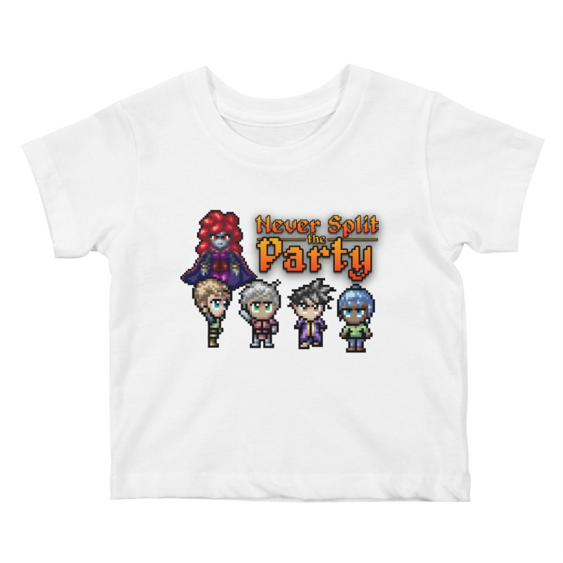 Never Split the Party Merch Kids Baby T-Shirt by Legend Studio Shop