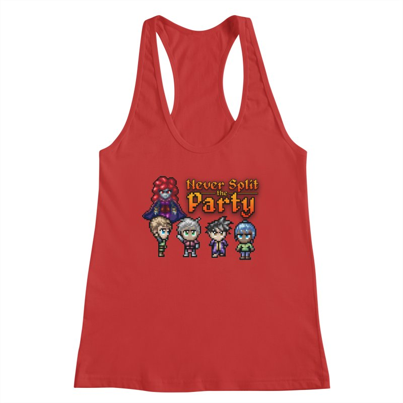 Never Split the Party Merch Women's Tank by Legend Studio Shop