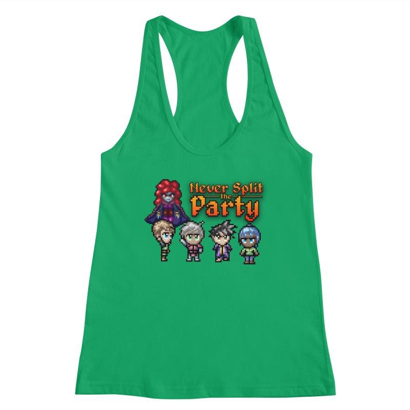 Never Split the Party Merch Women's Tank by Legend Studio Shop