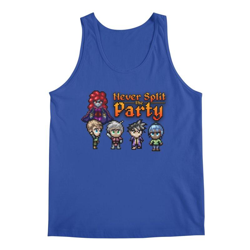 Never Split the Party Merch Men's Tank by Legend Studio Shop