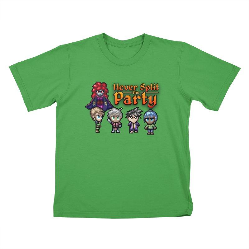 Never Split the Party Merch Kids T-Shirt by Legend Studio Shop