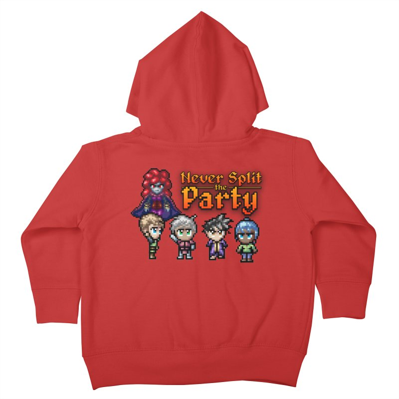 Never Split the Party Merch Kids Toddler Zip-Up Hoody by Legend Studio Shop