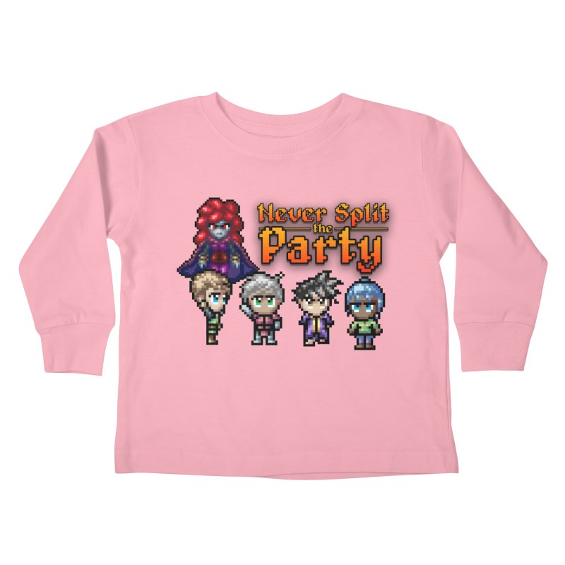Never Split the Party Merch Kids Toddler Longsleeve T-Shirt by Legend Studio Shop
