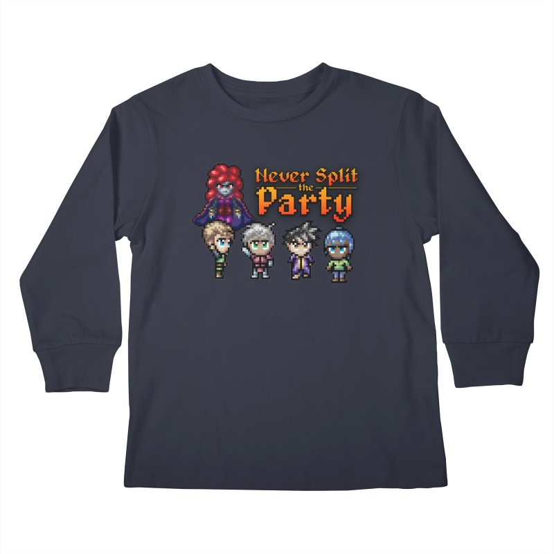 Never Split the Party Merch Kids Longsleeve T-Shirt by Legend Studio Shop