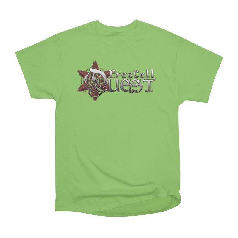FreeCell Quest Merch Men's Heavyweight T-Shirt by Legend Studio Shop