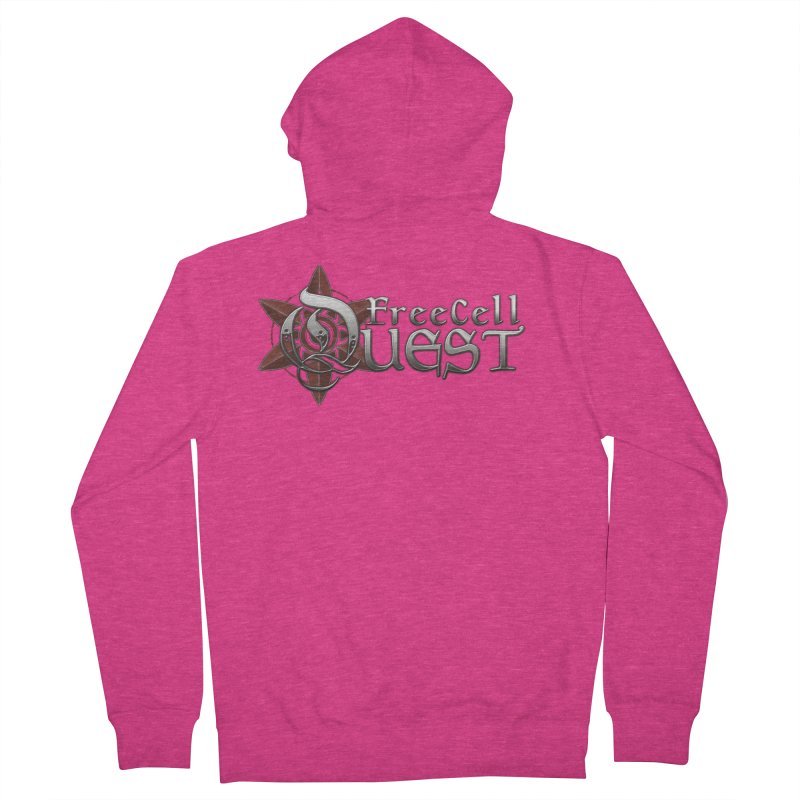 FreeCell Quest Merch Women's Zip-Up Hoody by Legend Studio Shop