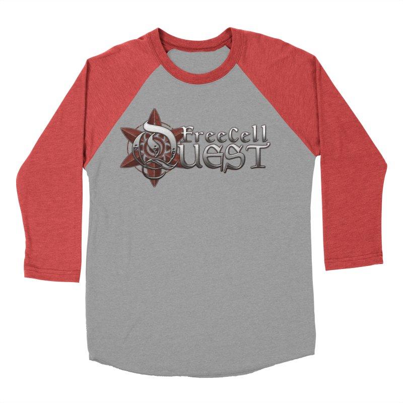 FreeCell Quest Merch Men's Baseball Triblend Longsleeve T-Shirt by Legend Studio Shop