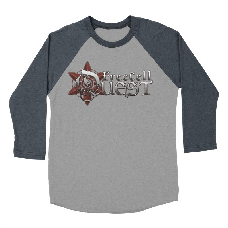 FreeCell Quest Merch Men's Baseball Triblend Longsleeve T-Shirt by Legend Studio Shop