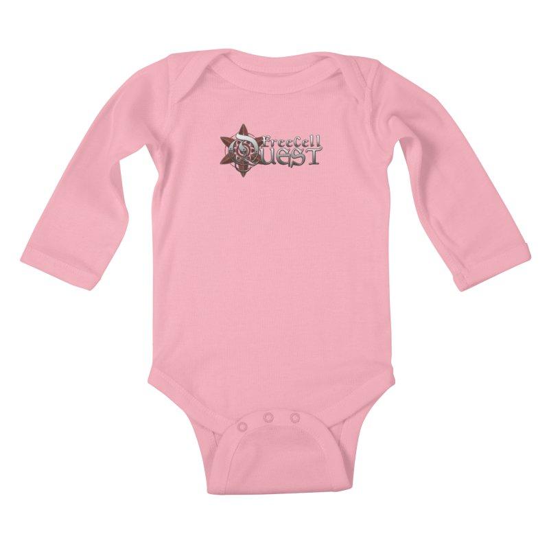 FreeCell Quest Merch Kids Baby Longsleeve Bodysuit by Legend Studio Shop