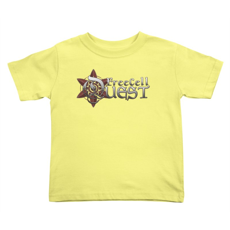 FreeCell Quest Merch Kids Toddler T-Shirt by Legend Studio Shop
