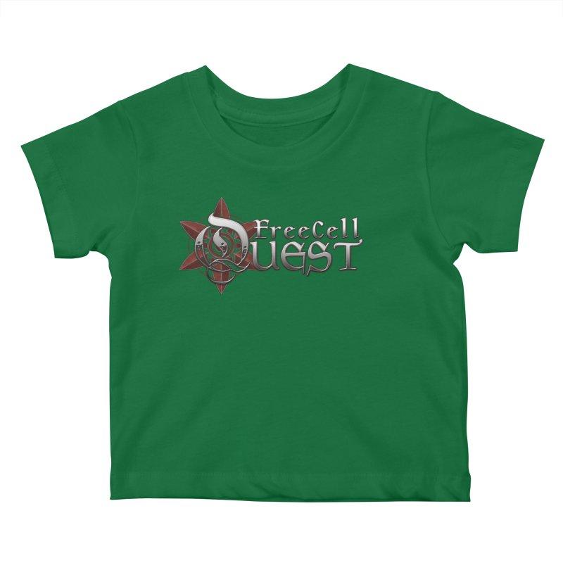 FreeCell Quest Merch Kids Baby T-Shirt by Legend Studio Shop