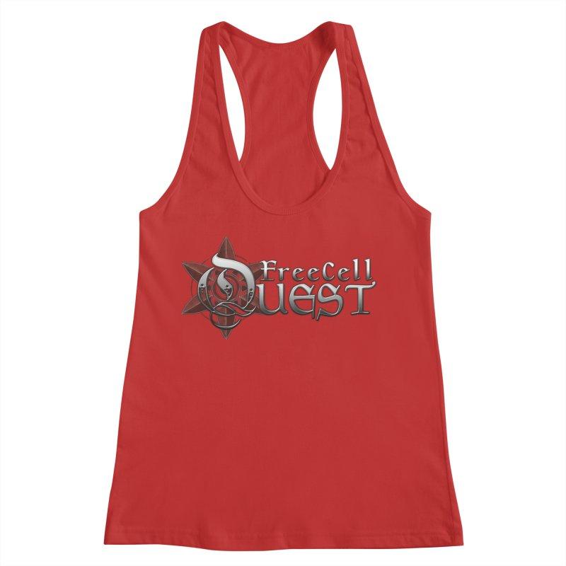 FreeCell Quest Merch Women's Racerback Tank by Legend Studio Shop