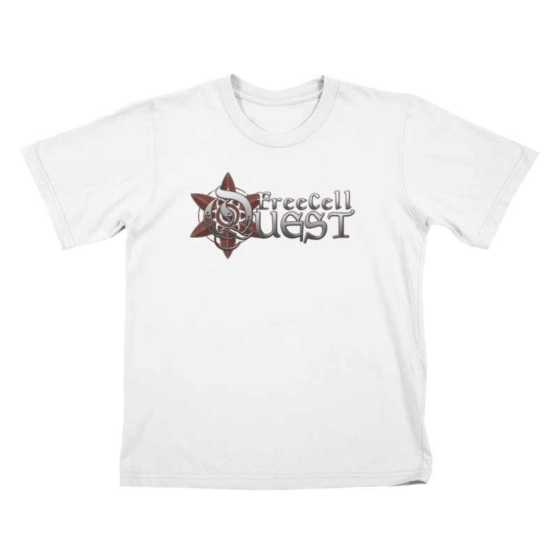 FreeCell Quest Merch Kids T-Shirt by Legend Studio Shop
