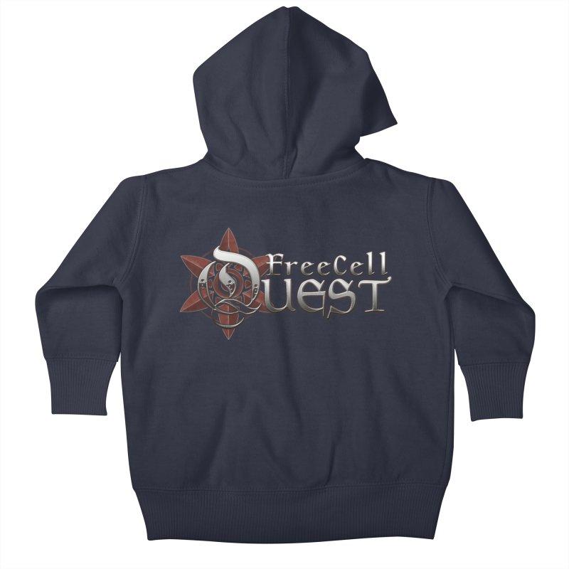 FreeCell Quest Merch Kids Baby Zip-Up Hoody by Legend Studio Shop