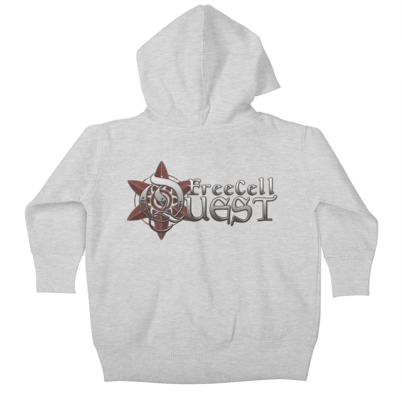FreeCell Quest Merch Kids Baby Zip-Up Hoody by Legend Studio Shop