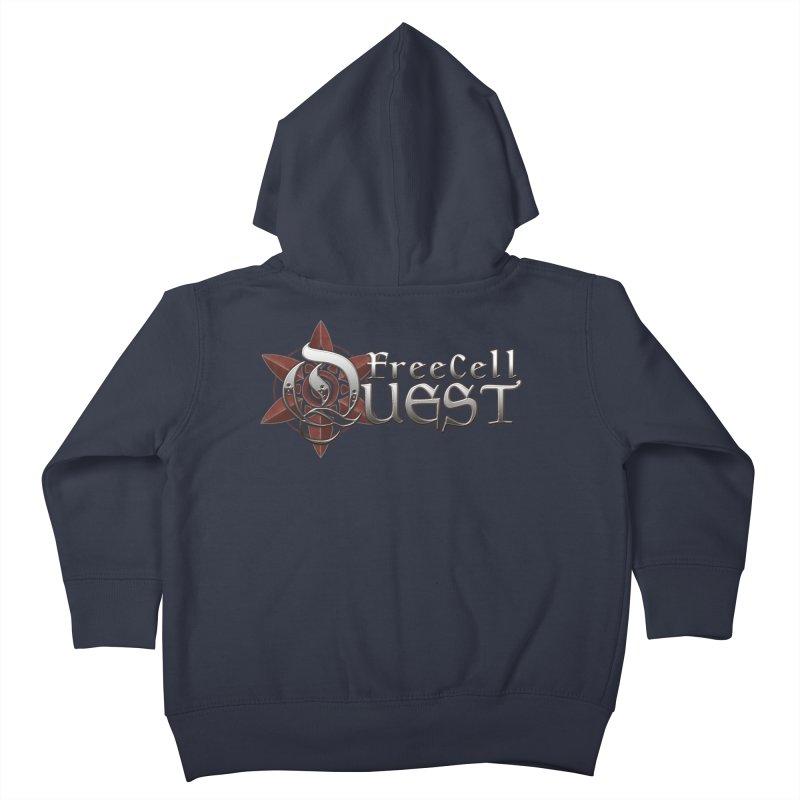 FreeCell Quest Merch Kids Toddler Zip-Up Hoody by Legend Studio Shop