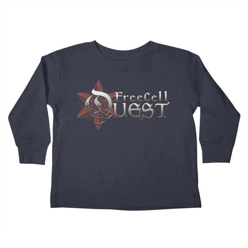 FreeCell Quest Merch Kids Toddler Longsleeve T-Shirt by Legend Studio Shop