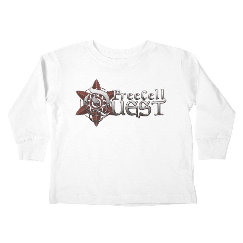 FreeCell Quest Merch Kids Toddler Longsleeve T-Shirt by Legend Studio Shop