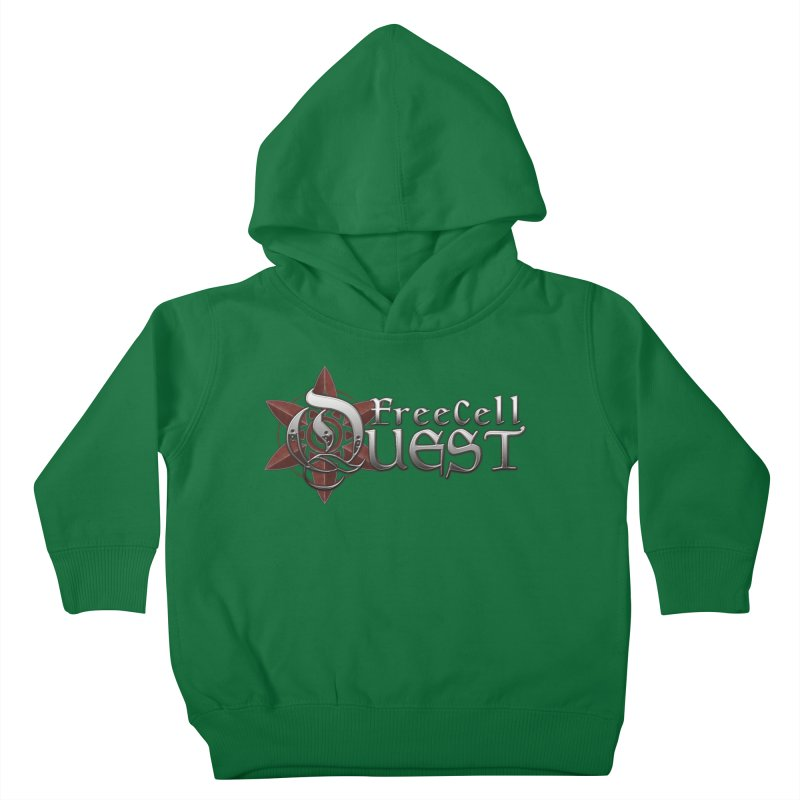 FreeCell Quest Merch Kids Toddler Pullover Hoody by Legend Studio Shop