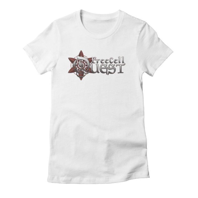 FreeCell Quest Merch Women's Fitted T-Shirt by Legend Studio Shop