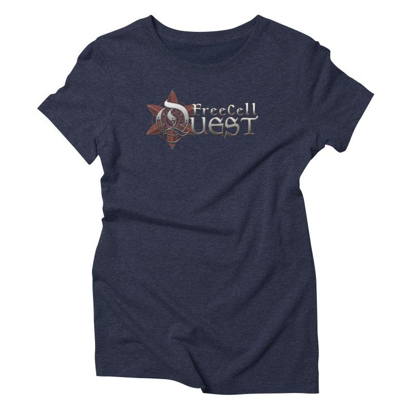 FreeCell Quest Merch Women's Triblend T-Shirt by Legend Studio Shop