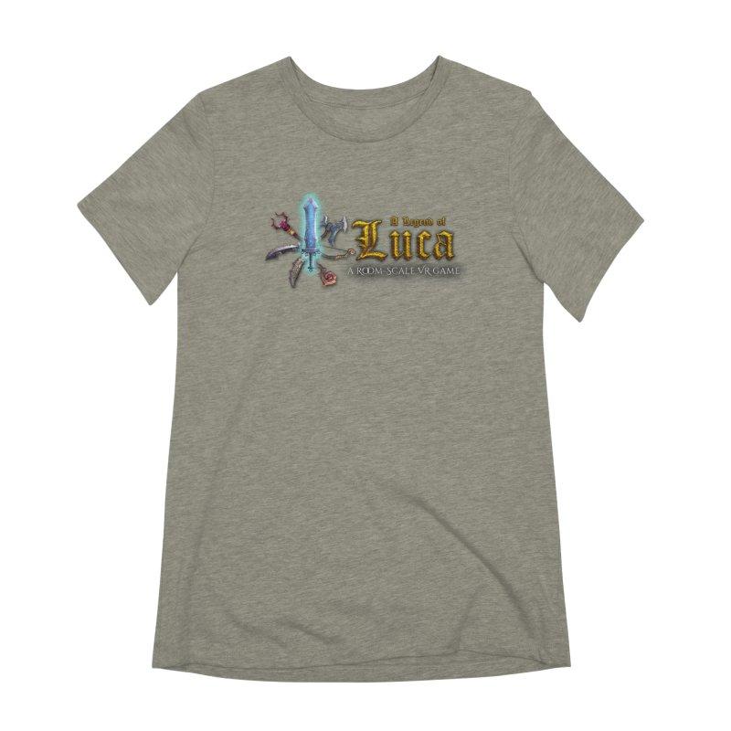 A Legend of Luca Merch Women's Extra Soft T-Shirt by Legend Studio Shop