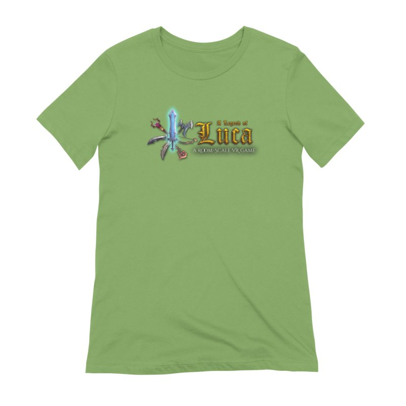 A Legend of Luca Merch Women's T-Shirt by Legend Studio Shop