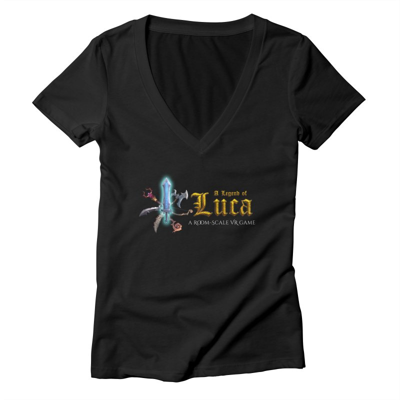 A Legend of Luca Merch Women's V-Neck by Legend Studio Shop
