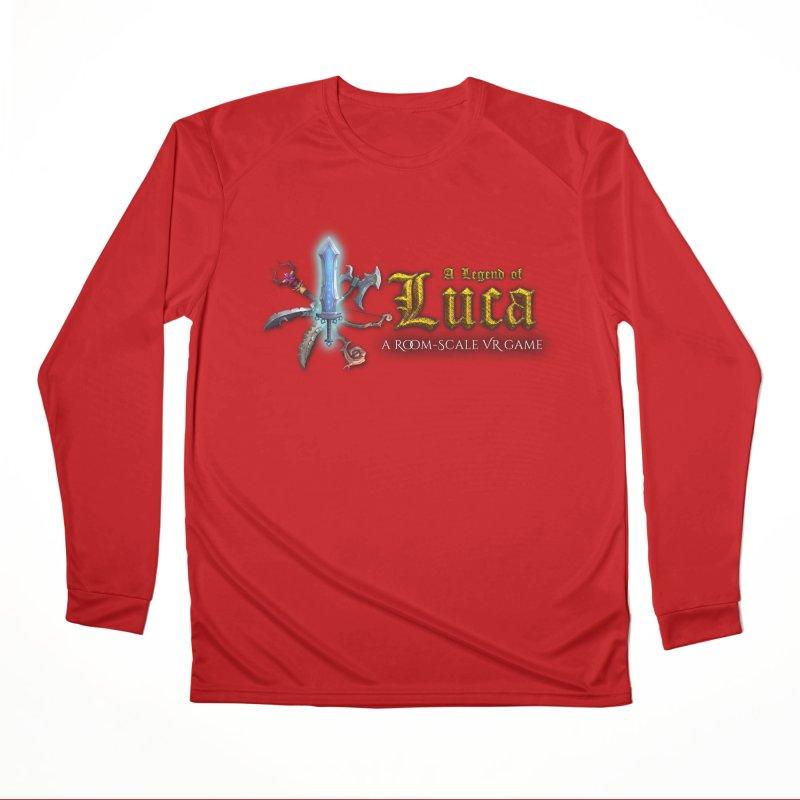 A Legend of Luca Merch Men's Performance Longsleeve T-Shirt by Legend Studio Shop